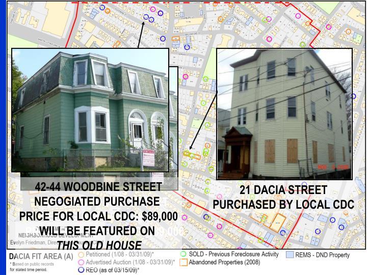 42-44 WOODBINE STREET