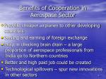 benefits of cooperation in aerospace sector