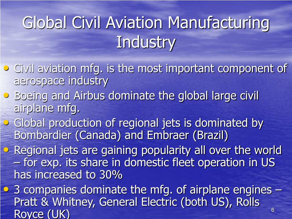 Global Civil Aviation Manufacturing Industry