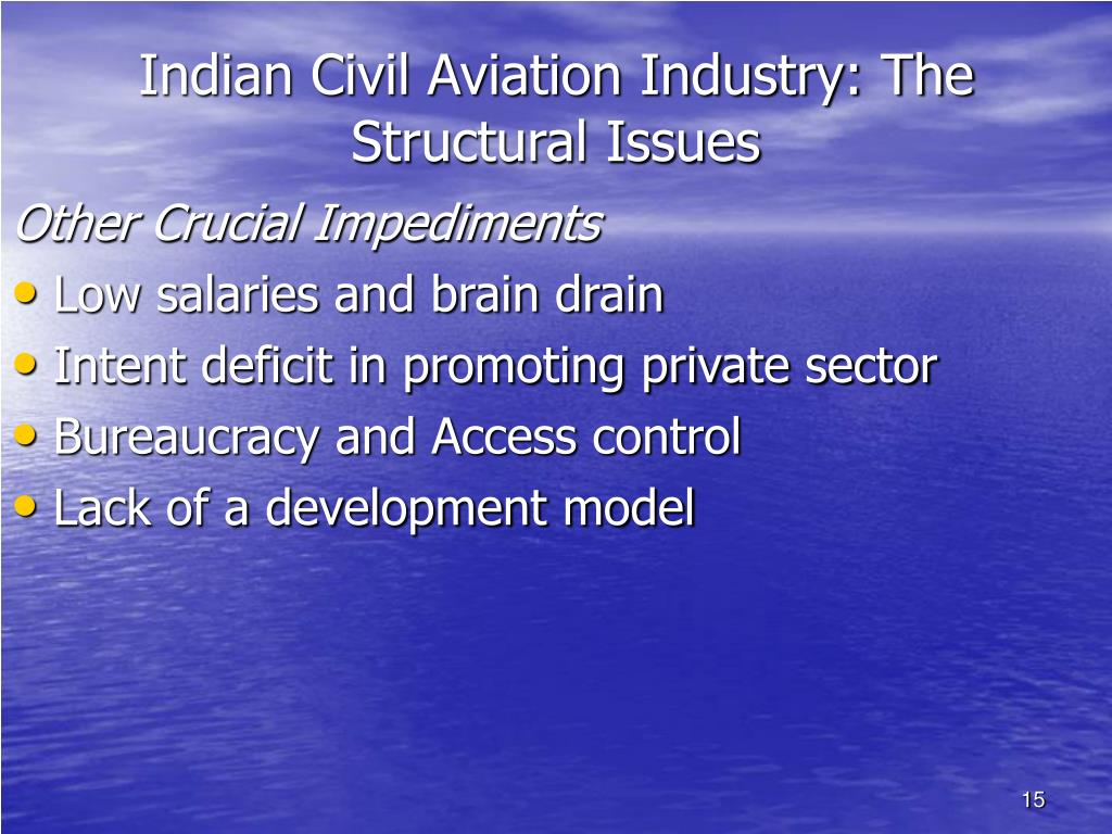 Indian Civil Aviation Industry: The Structural Issues