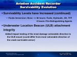 aviation accident recorder survivability evolution5