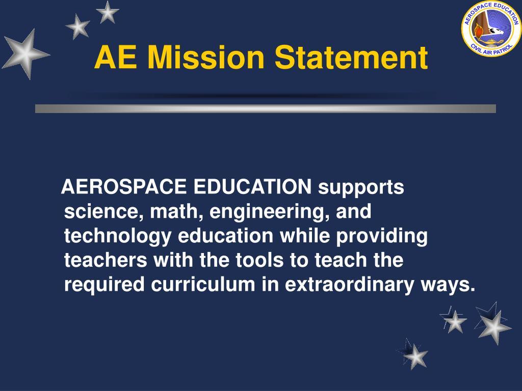 AE Mission Statement