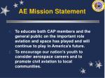 ae mission statement9