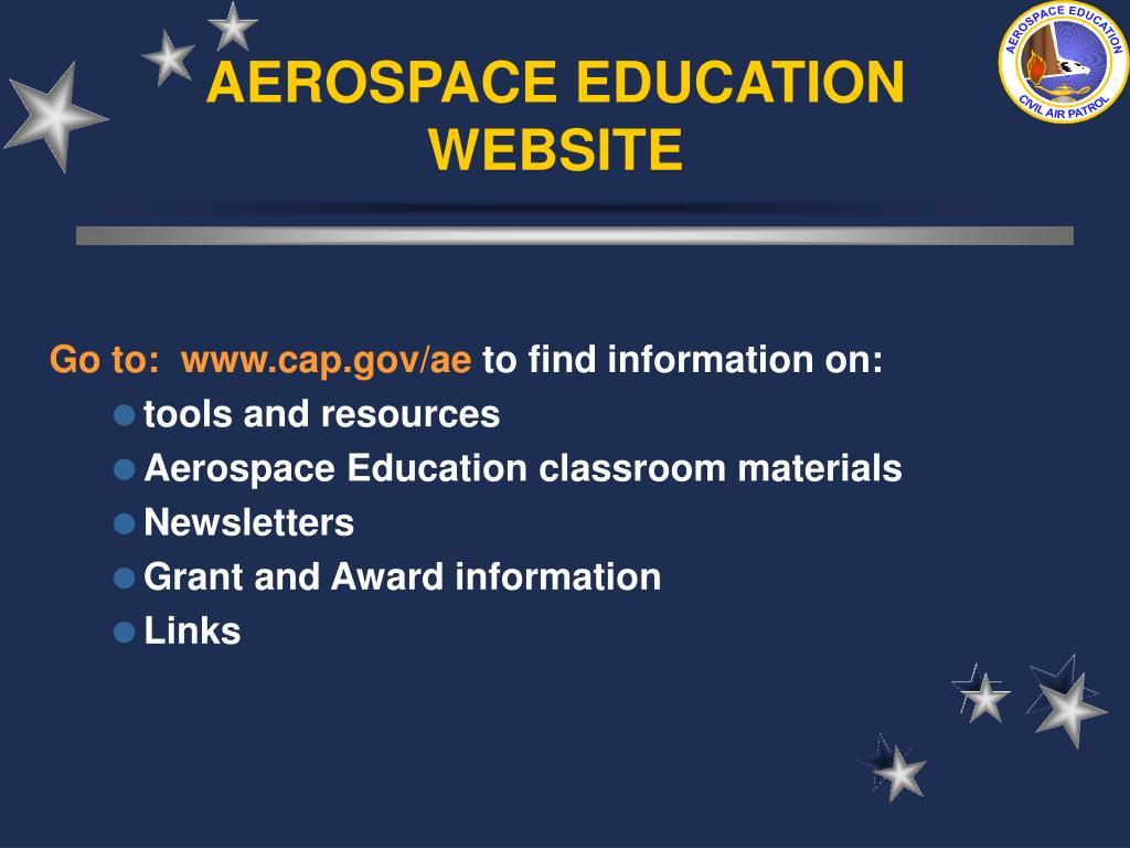AEROSPACE EDUCATION WEBSITE