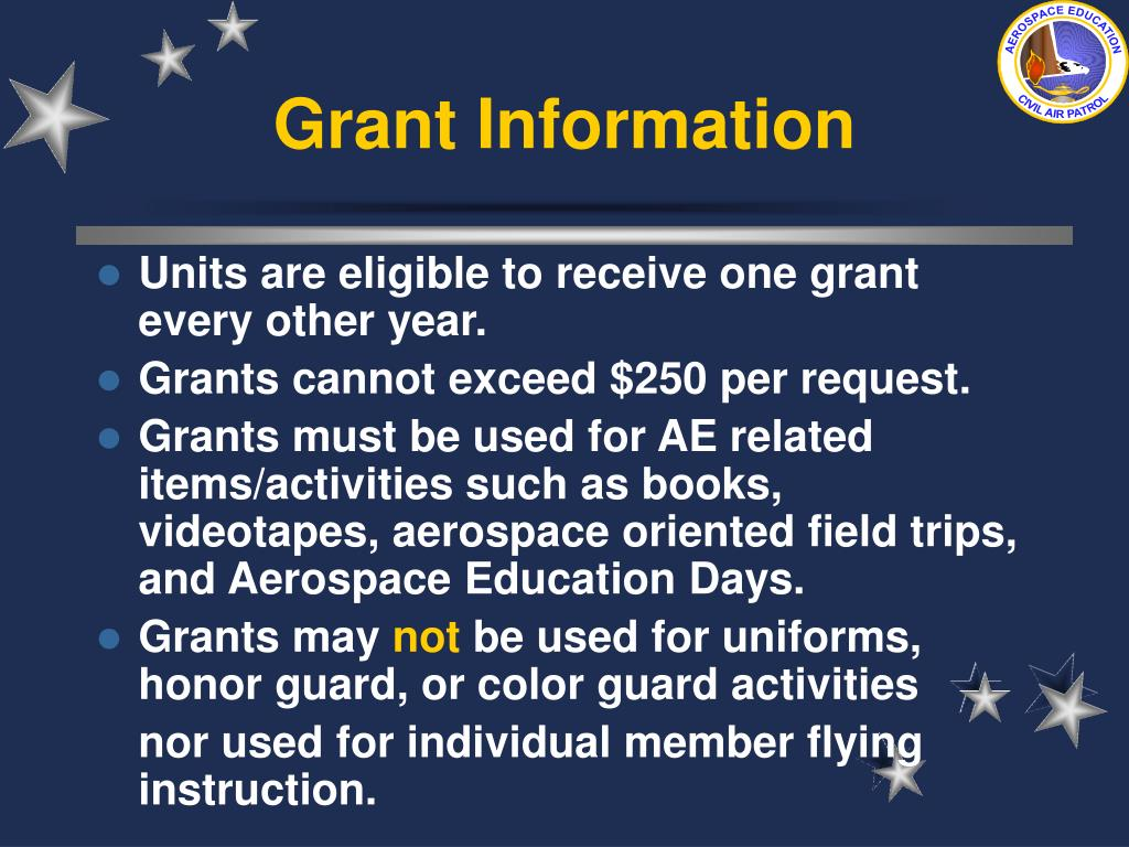 Grant Information