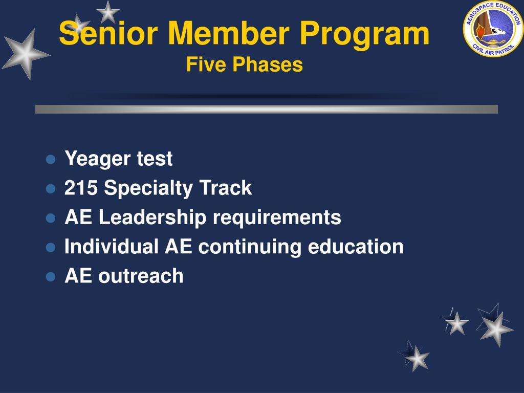 Senior Member Program