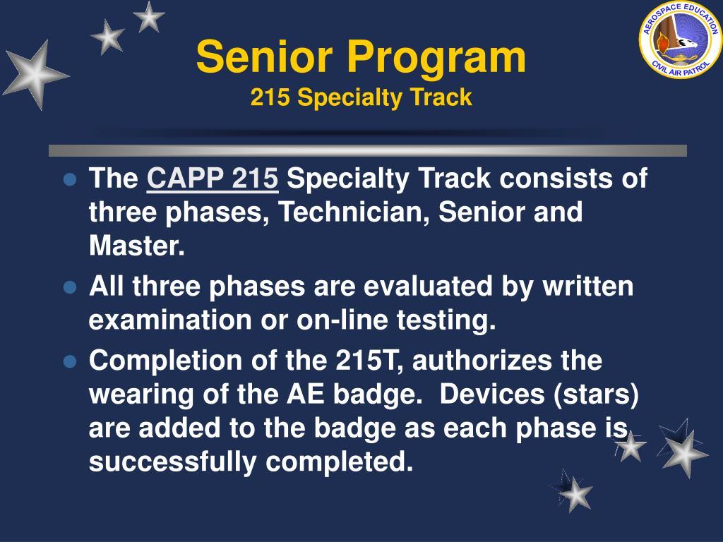 Senior Program