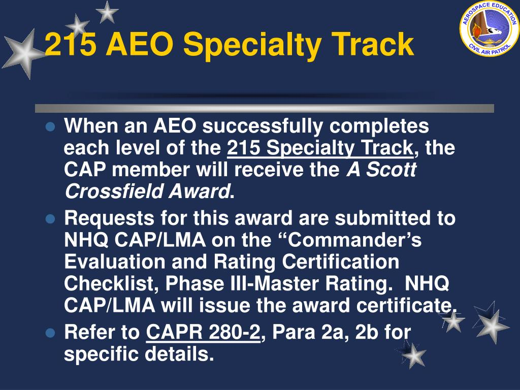 215 AEO Specialty Track