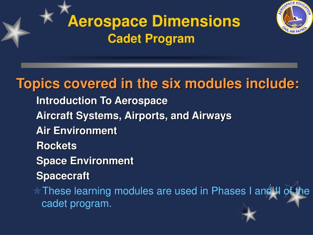 Aerospace Dimensions