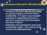 aerospace education membership