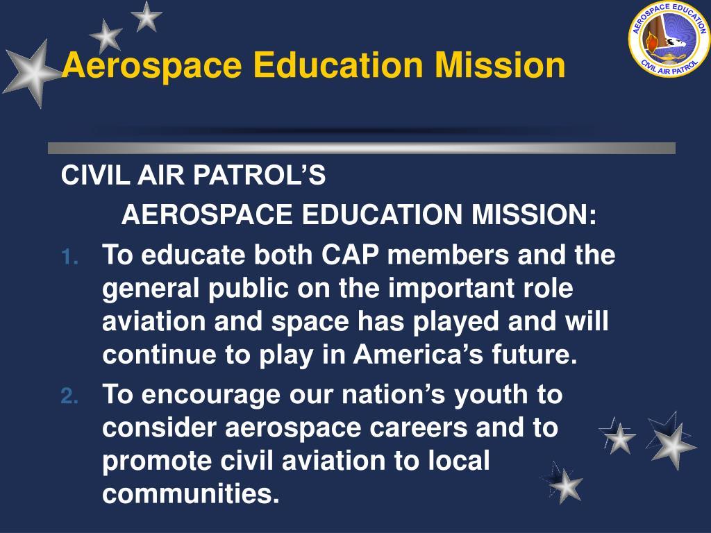 Aerospace Education Mission