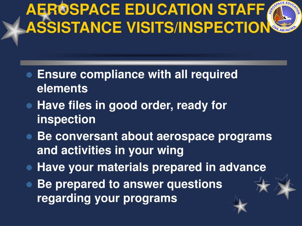 AEROSPACE EDUCATION STAFF