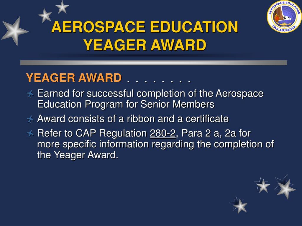 AEROSPACE EDUCATION