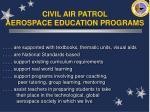 civil air patrol aerospace education programs