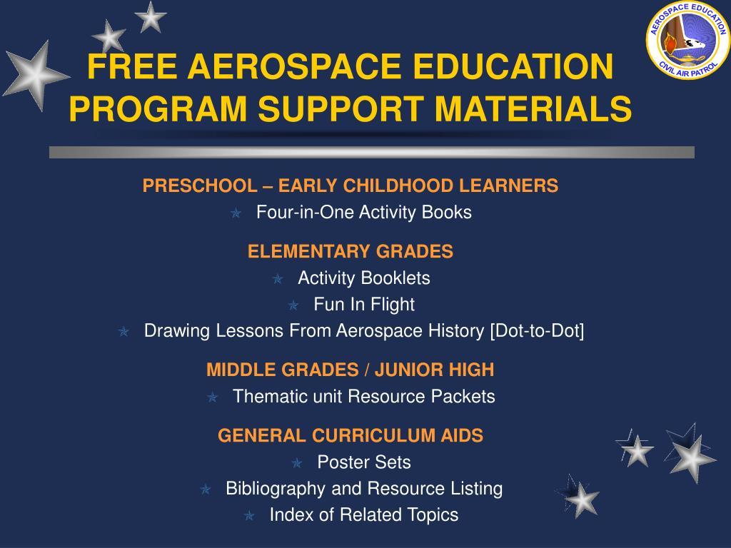 FREE AEROSPACE EDUCATION