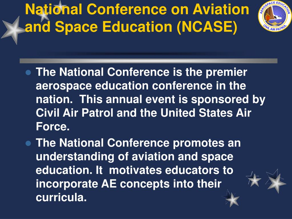 National Conference on Aviation and Space Education (NCASE)
