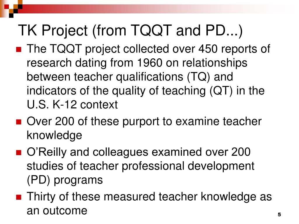 TK Project (from TQQT and PD...)