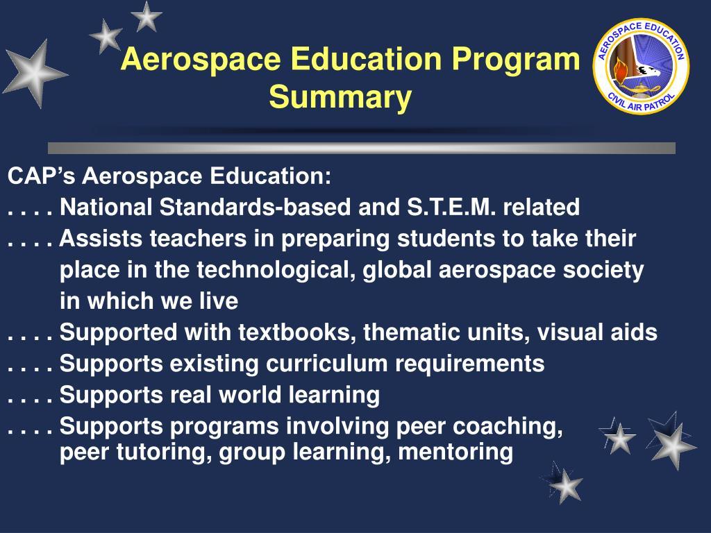 Aerospace Education Program