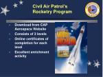 civil air patrol s rocketry program