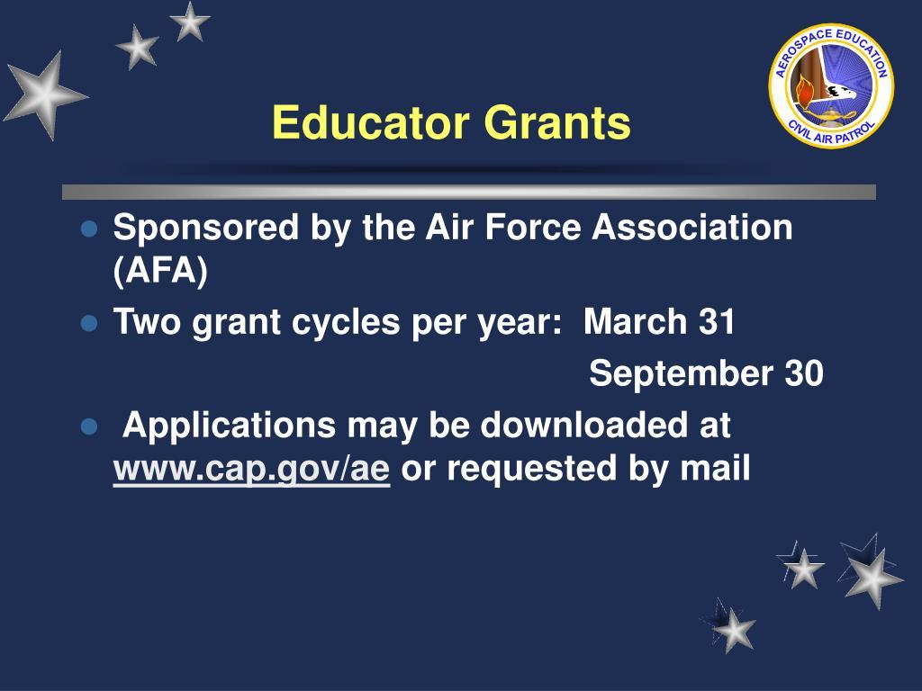 Educator Grants