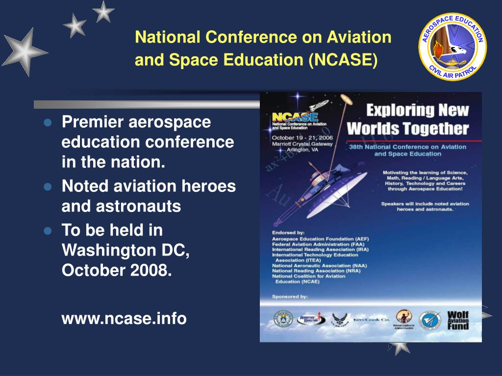 Premier aerospace education conference in the nation.
