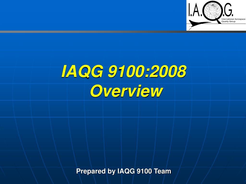 IAQG 9100:2008