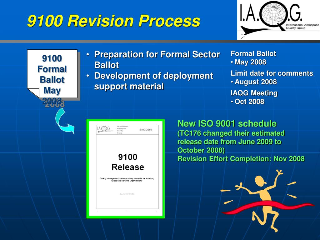 9100 Revision Process