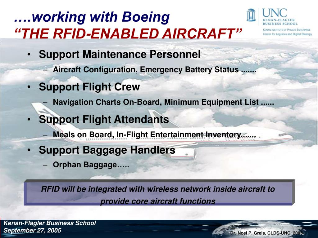 ….working with Boeing