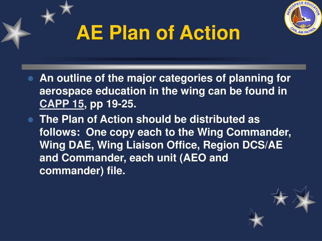 AE Plan of Action