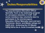duties responsibilities20