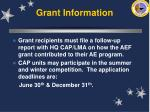 grant information42