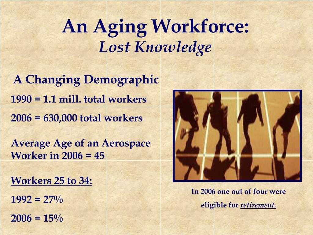 An Aging Workforce: