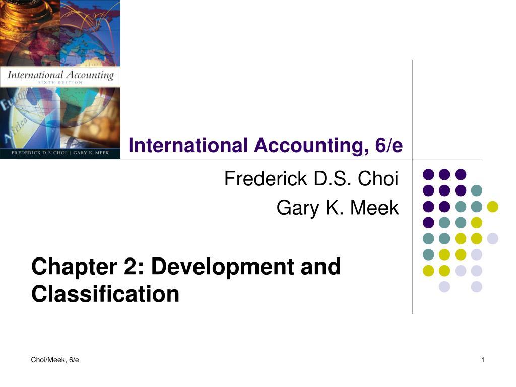 Accounting Presentation Ideas