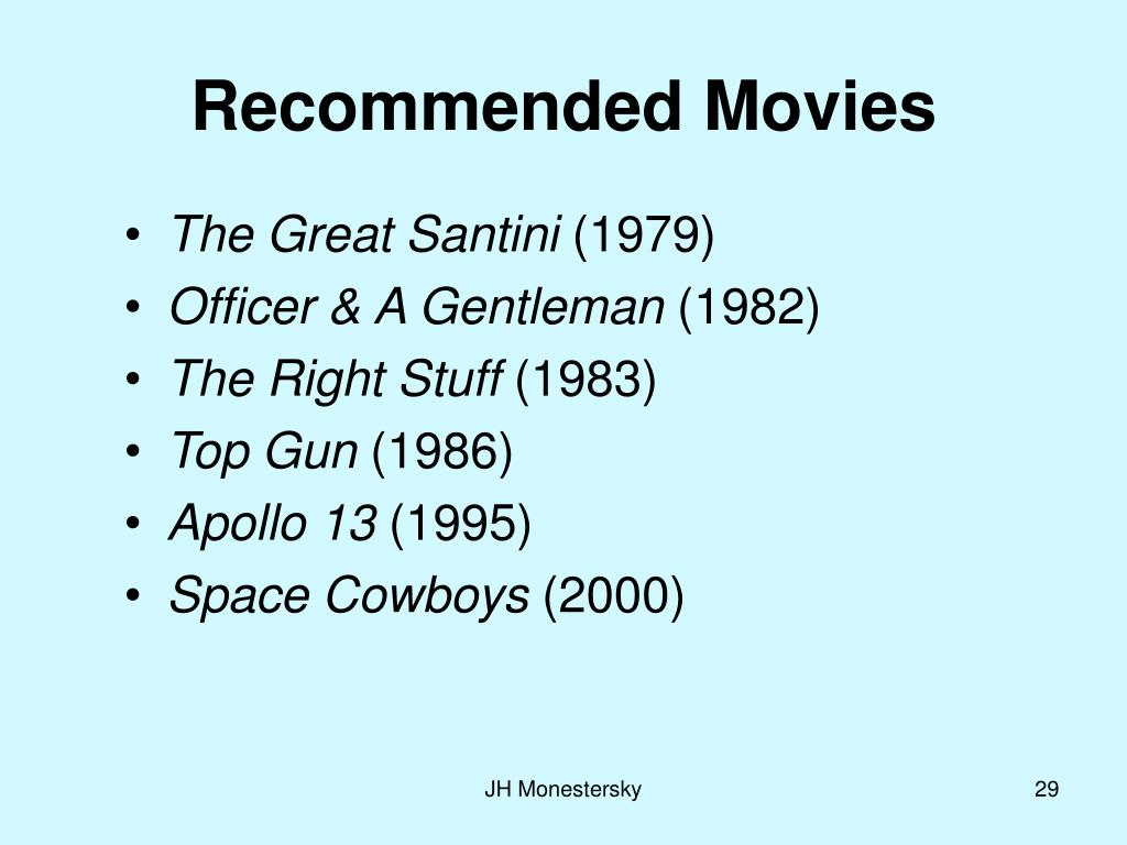 Recommended Movies