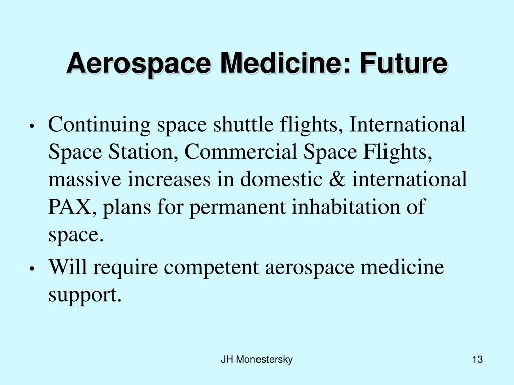 Aerospace Medicine: Future