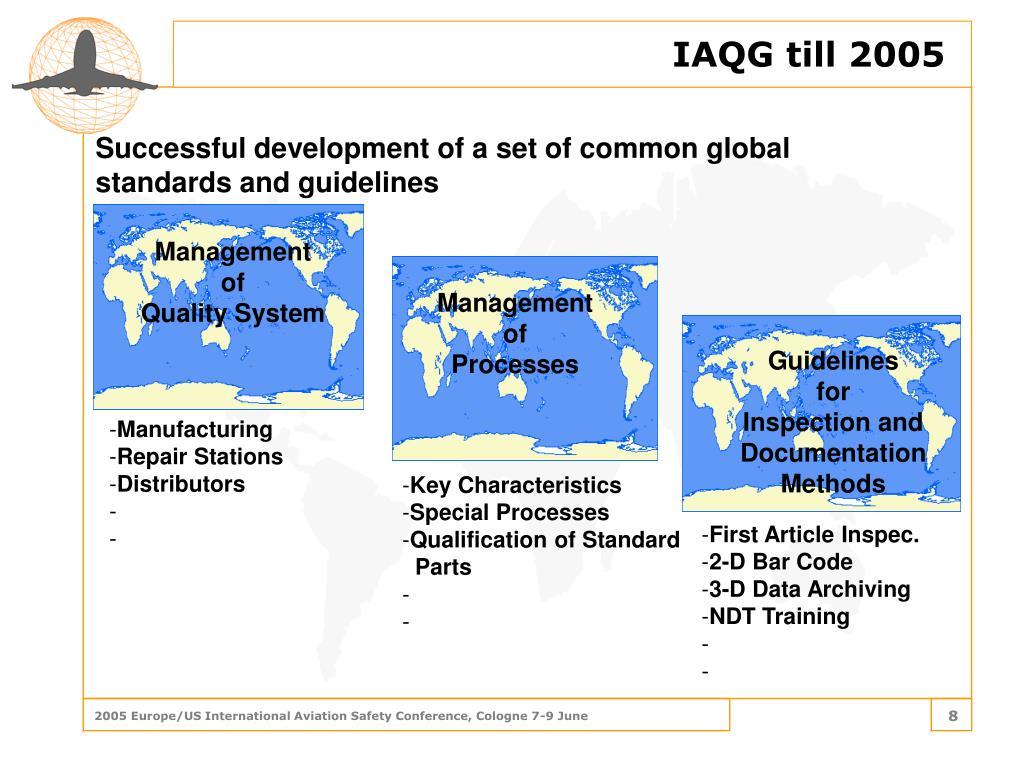 IAQG till 2005