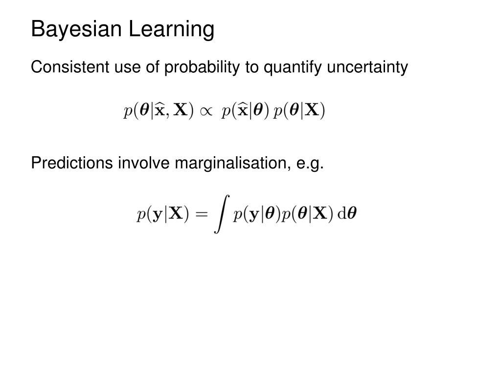 Bayesian Learning