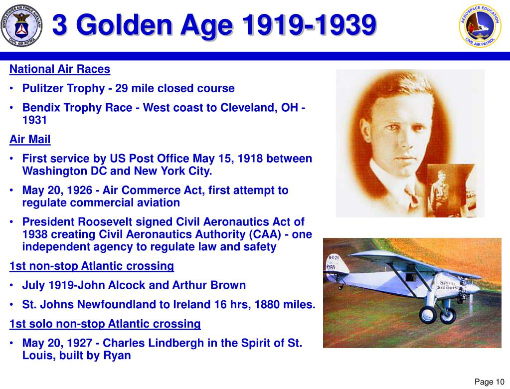 3 Golden Age 1919-1939