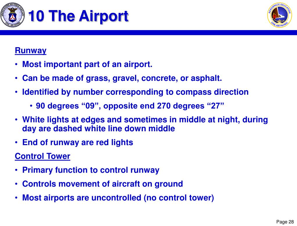 10 The Airport
