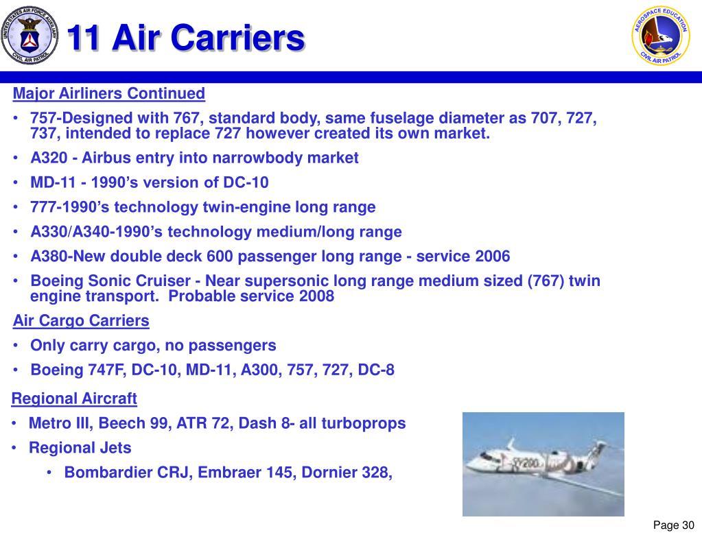 11 Air Carriers
