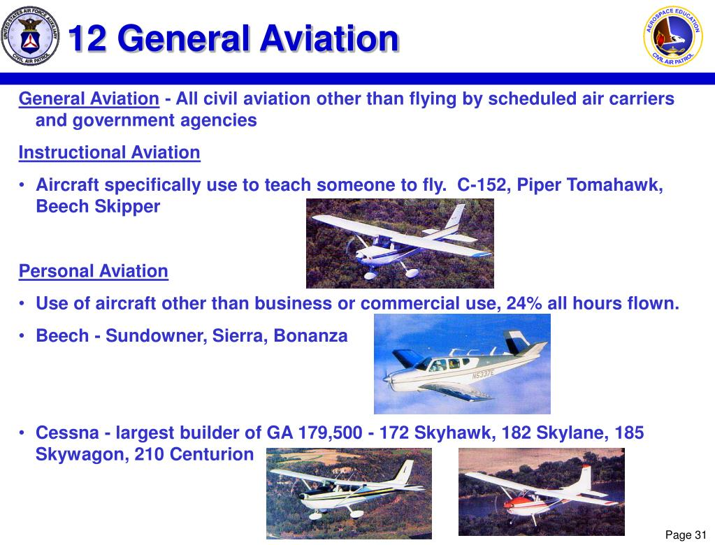 12 General Aviation