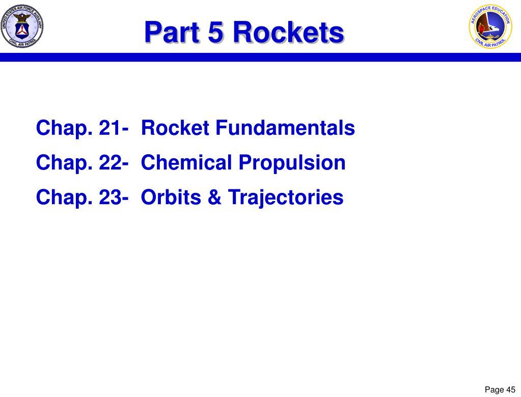 Part 5 Rockets