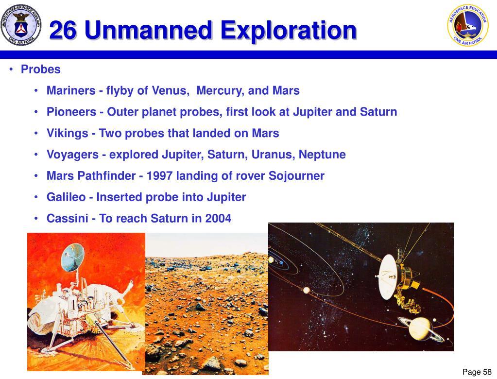 26 Unmanned Exploration