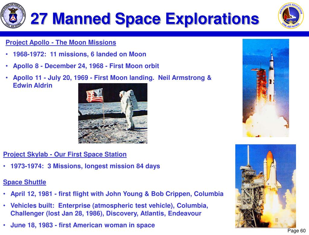 27 Manned Space Explorations