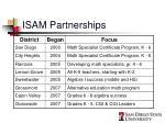 isam partnerships