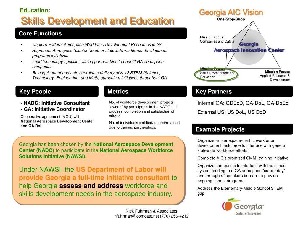 Georgia AIC Vision