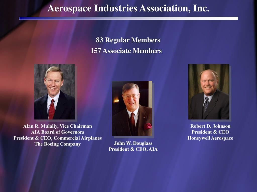 Aerospace Industries Association, Inc.