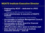 ngats institute executive director