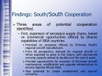 findings south south cooperation11