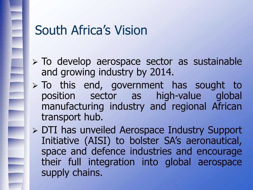 South Africa's Vision